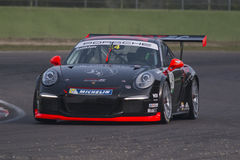 Porsche Carrera Cup Italia car racing Stock Photography