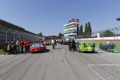 Porsche Carrera Cup Italia car racing Royalty Free Stock Image