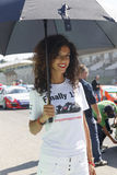 Porsche Carrera Cup Italia car racing Stock Photos