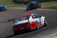 Porsche Carrera Cup Italia car racing Stock Photos