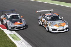 PORSCHE CARRERA CUP ITALIA Royalty Free Stock Photo