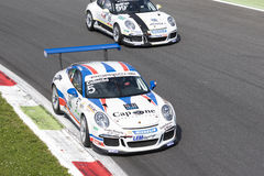 PORSCHE CARRERA CUP ITALIA Royalty Free Stock Photos