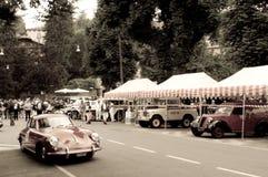 Porsche 356 Carrera em Bergamo Prix grande histórico 2015 Fotos de Stock