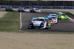 Porsche Carrera filiżanki Italia samochodowy ścigać się Fotografia Stock