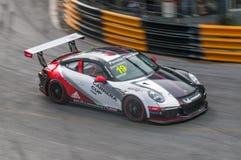 Porsche Carrera filiżanka Azja, uderzenie Saen 2017 Obraz Royalty Free