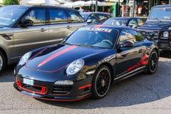 Porsche 991 911 Carrera 4 GTS Royaltyfri Fotografi