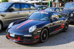 Porsche 991 911 Carrera 4 GTS Royalty Free Stock Photography