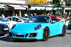 Porsche 911 Carrera GTS lizenzfreie stockfotos