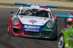 Porsche Carrera-het autorennen van Kopitalië Royalty-vrije Stock Afbeelding