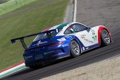 Porsche Carrera-het autorennen van Kopitalië Stock Fotografie