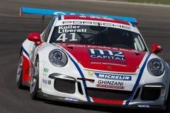 Porsche Carrera-het autorennen van Kopitalië Royalty-vrije Stock Fotografie
