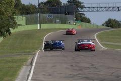 Porsche Carrera-het autorennen van Kopitalië Royalty-vrije Stock Afbeeldingen