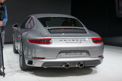 Porsche 911 Carrera New - world premiere. Royalty Free Stock Image