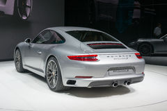 Porsche 911 Carrera New - world premiere. Stock Photos