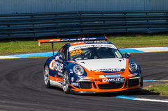Porsche 911 Carrera race car of Michael Patrizi Stock Image