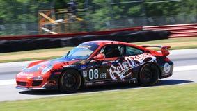Porsche Carrera-raceauto Royalty-vrije Stock Fotografie