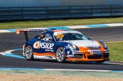 Porsche 911 Carrera-raceauto van Paul Patrizi Stock Foto's