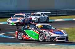 Porsche 911 Carrera-raceauto van Shae Davies Royalty-vrije Stock Foto's