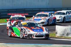 Porsche 911 Carrera-raceauto van Shae Davies Stock Afbeelding