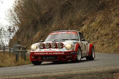 Porsche Carrera RAlly Stock Photos