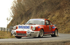 Porsche Carrera Rally Stock Image