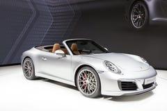 Porsche 911 Carrera S à l'IAA 2015 Image stock