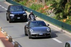 Porsche 911 carrera s Royalty-vrije Stock Afbeeldingen