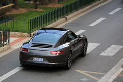Porsche 911 carrera s Royalty-vrije Stock Fotografie