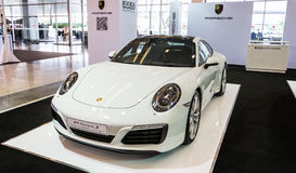Porsche 911 carrera s royaltyfri fotografi
