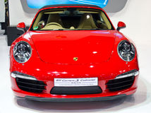 Porsche 911 Carrera S Cabriolet Car. stock photos