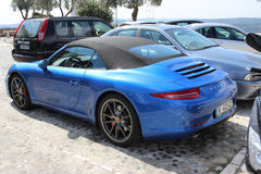 Porsche 911 Carrera S Cabriolet Royalty Free Stock Images