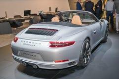 Porsche 911 Carrera S. Frankfurt-September 20:  Porsche 911 Carrera S at the Frankfurt International Motor Show on September 20, 2017 in Frankfurt Stock Photos