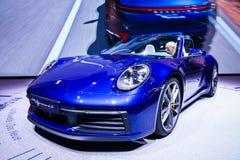 Porsche 911 Carrera 4S images libres de droits