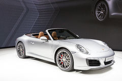 Porsche 911 Carrera S at the IAA 2015 Stock Image