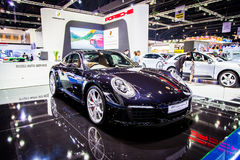 Porsche 911 Carrera S på Thailand 37th internationella Motorshow 2016 Royaltyfria Foton