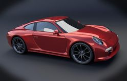 Porsche Carrera 911 4s 2014 restyled Stock Photos