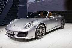 2016 Porsche 911 Carrera S sportów samochód Fotografia Stock