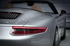 Porsche 911 Carrera S sportbilslut upp Royaltyfri Foto
