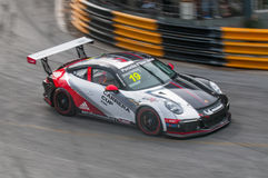 Porsche Carrera-Schale Asien, Knall Saen 2017 Lizenzfreies Stockbild