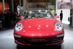 Porsche carrera sport car Royalty Free Stock Photography