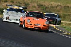 Porsche 911 carros de competência foto de stock royalty free