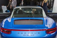 Porsche 911 Carrrera 4S Stock Photo