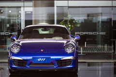 Porsche cars for sale Royalty Free Stock Images