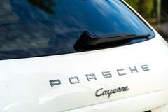 Αυτοκίνητο της Porsche Cayenne στοκ φωτογραφία με δικαίωμα ελεύθερης χρήσης