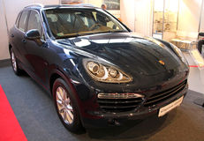 Porsche Cayenne Royalty Free Stock Photography