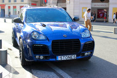 Porsche Cayenne Magnum Turbo Techart Royalty Free Stock Images