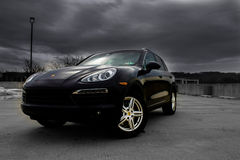 Porsche, Cayenne Stock Photos