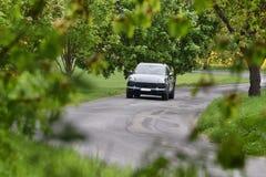 Porsche Cayenne S foto de stock royalty free