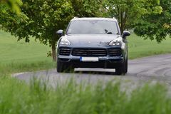 Porsche Cayenne S fotos de stock royalty free