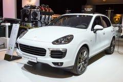 Porsche Cayenne S e-hybrid Stock Images